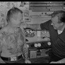 Tattoo Peter and a customer